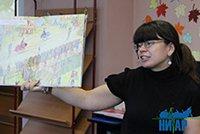 Библиобус ЛОДБ в библиотеках Кингисеппского района