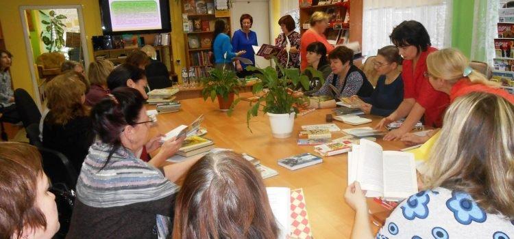 Библиобус ЛОДБ в Тихвинском районе
