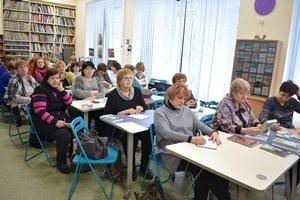 Встреча со школьными библиотекарями Выборгского района Санкт-Петербурга