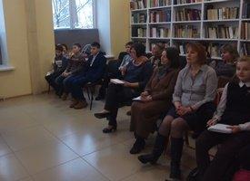 Библиобус ЛОДБ в Тосно