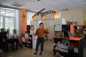 Олеся Гонсеровская в Тихвинской центральной детской библиотеке