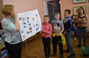 Библиобус ЛОДБ в Бокситогорске