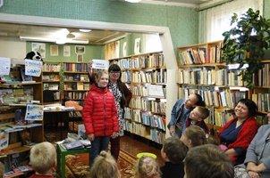 Библиобус ЛОДБ в Волховском районе