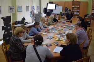 Встреча с библиотекарями Сланцевского района
