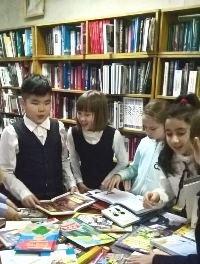 Библиобус ЛОДБ в Тосненском районе