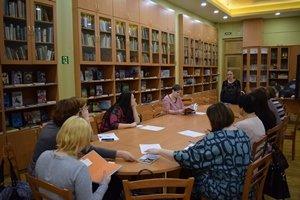 Семинар для школьных библиотекарей области