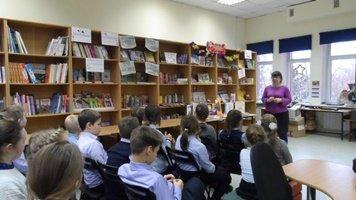 Библиобус ЛОДБ в Ивангороде
