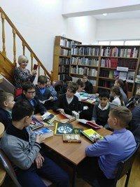 Библиобус ЛОДБ в Гатчинском районе
