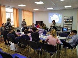 Библиобус ЛОДБ в Ломоносовском районе