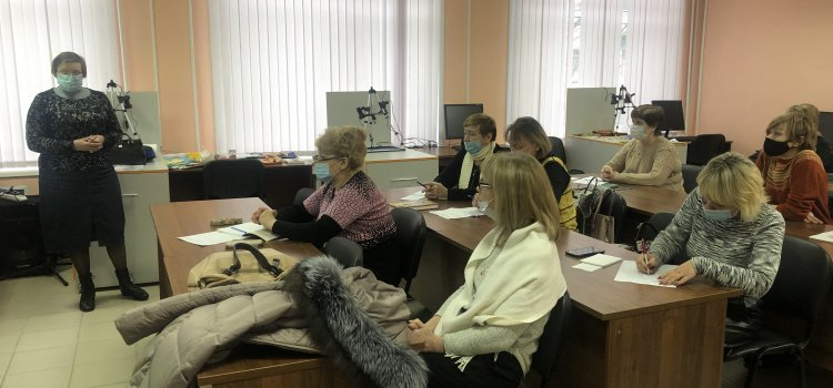 Встречи специалистов и семинар для школьных библиотекарей