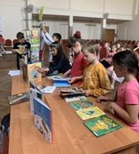 Библиобус ЛОДБ во Всеволожском районе
