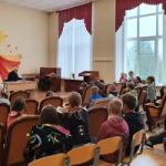 А.Д. Кутерницкий в поселке Ефимовский